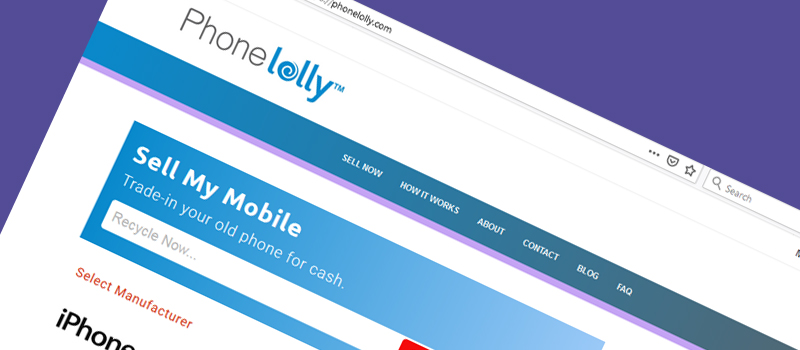 Phonelolly website Image